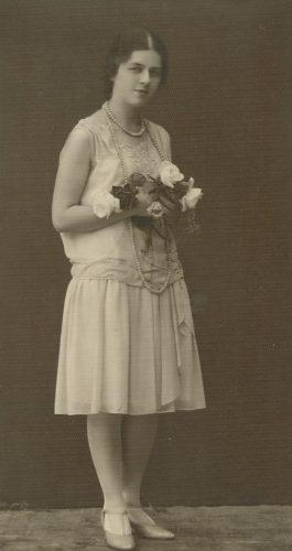 Laimutė Šlapelytė, 1928 m. Fotografas Antoni Skurjat.