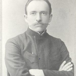 Jurgis Šlapelis – Maskvos universiteto studentas. Marijos ir Jurgio Šlapelių namo-muziejaus archyvas