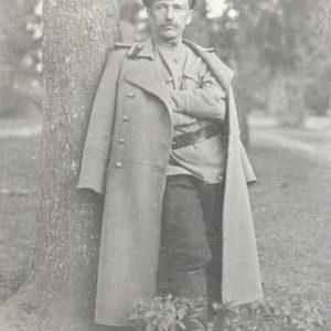 Jurgis Šlapelis – Pirmojo pasaulinio karo gydytojas. Marijos ir Jurgio Šlapelių namo-muziejaus archyvas