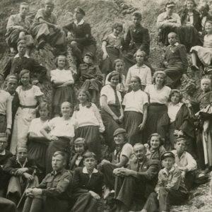 Skaistutis Šlapelis ekskursijoje po Lenkiją. 1938 (?) m. Skaistutis su didele grupe gimnazistų ekskursijoje Zakopanėje. Skaistutis – pačiame viršuje, kairėje, pažymėtas kryžiuku.
