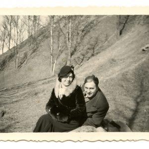 Gražutės Šlapelytės pasivaikščiojimas po Vilniaus apylinkes. 1936 m.