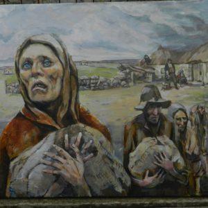 """""""Didysis badas"""" (2019). Didysis badas, arba Didysis alkis, buvo masinio bado ir ligų laikotarpis Airijoje, kuris tęsėsi nuo 1845 iki 1849 m. Bado metu mirė apie 1 milijoną žmonių, o 2 milijonai emigravo, todėl salos gyventojų skaičius sumažėjo beveik 25 proc."""